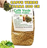 CAFFE VERDE DIMAGRANTE BRUCIA GRASSI DIETA PERDI PESO TISANA 500 GR immagine