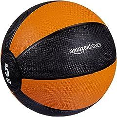 Idea Regalo - AmazonBasics - Palla medica, 5 kg
