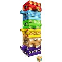 VAGHASIYA SALES® Colour Jenga Blocks Timber Tower Tumbling Game for Kids and Adults, Jenga Game Traditional Classic…