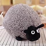 Etbotu Süßes Cartoon-Schaf, Plüschspielzeug, angenehm weiches Kissen, Dekoration für Ihr Zuhause
