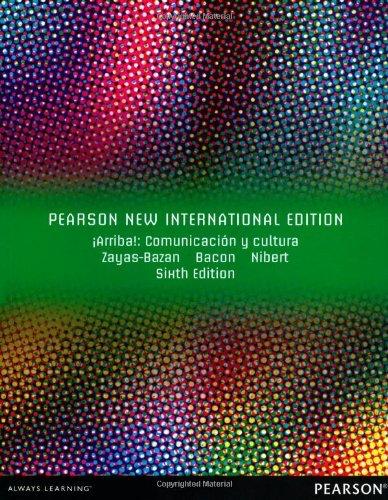 !Arriba!: Comunicacion y Cultura by Eduardo J. Zayas-Baz??n (2013-11-01)