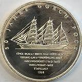 BRD Jägernr: 537 2008 J Stgl./unzirkuliert Silber Gorch Fock II Stgl./unzirkuliert 2008 10 Euro Gorch Fock II (Münzen für Sammler)