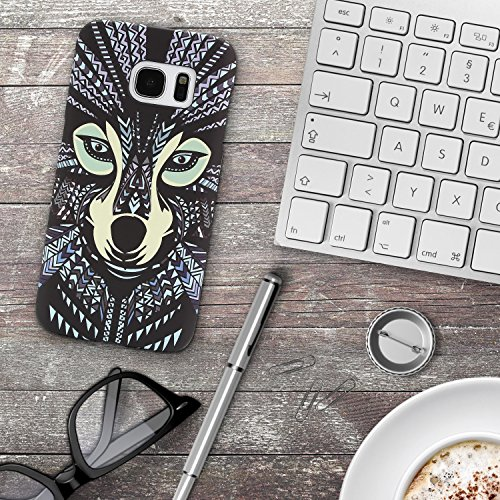 Urcover® Apple iPhone 7 Plus / 8 Plus Forest King Schutz-hülle | Design Eule Muster | Polycarbonat Back-case | Cover Smartphone Zubehör Tasche Handy-hülle Variante 11