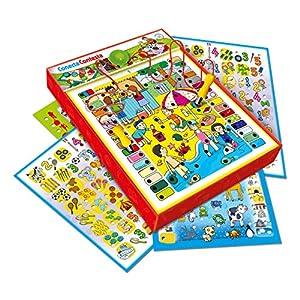 Clementoni – Conecta Contesta, juego educativo (653805) , color/modelo surtido