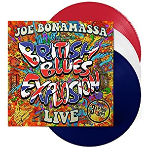 British Blues Explosion - Live - Red/White/Blue Vinyl (3 LP)