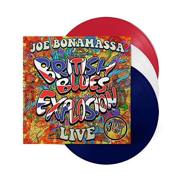 British Blues Explosion - Live - Red/White/Blue Vinyl (3 LP)