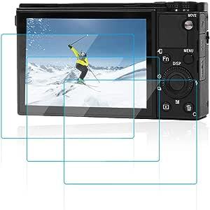 Afunta Lcd Displayschutzfolie Gehärtetes Optisches Glas Unsichtbar Für Sony Rx100 M7 Rx100 Vii Kamera 3 Stück Elektronik