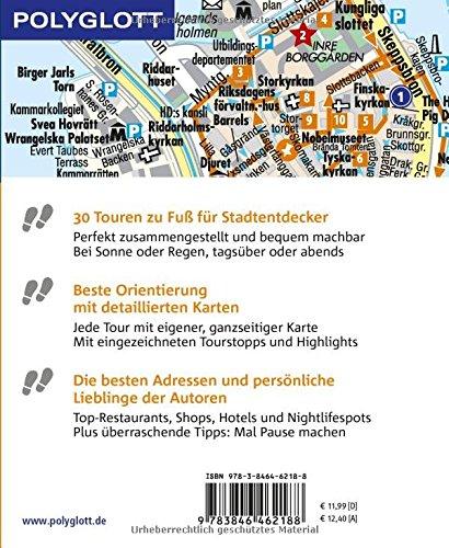 POLYGLOTT Reiseführer Stockholm zu Fuß entdecken: Auf 30 Touren die Stadt entdecken (POLYGLOTT zu Fuß entdecken): Alle Infos bei Amazon