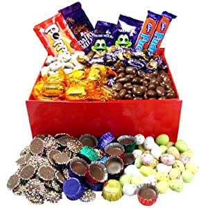Toffee & Chocs Sweets Hamper Box by LoveYourSweets