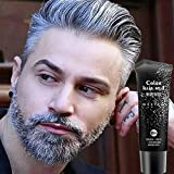 Best Hair Pomade For Women - Disposable Silver Gray Color Hair Gel Cream Temporary Review