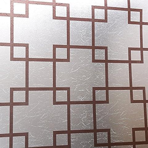 Glas Fenster Aufkleber Bad partition Glas deko Wall Sticker, 45