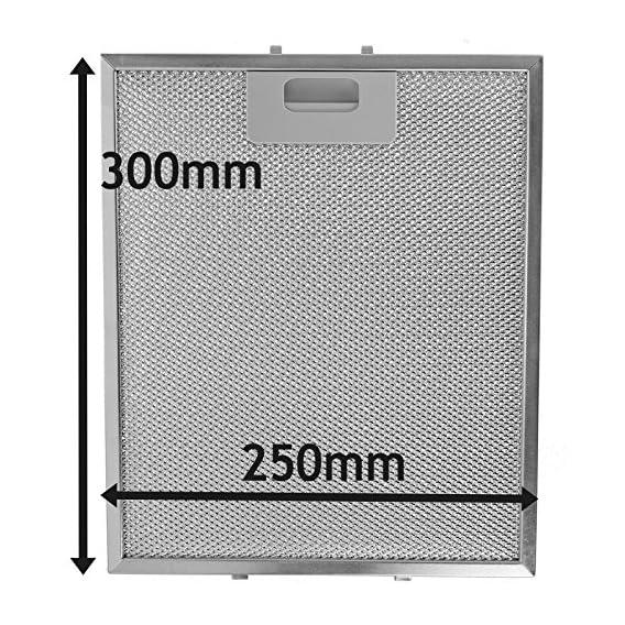 SPARES2GO IKEA-Filtro rete metallica per ventola di estrazione, per ...