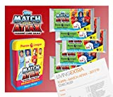 Topps Match Attax 17/18 Trading Card MIDFIELD MASTERS Mega Tin with 105 Cards. Includes 2 x Limited Edition Cards (1 Guaranteed GOLD!). Plus LivingExtra Checklist guide.