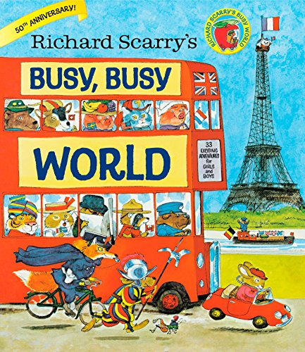 Busy Busy World por Richard Scarry