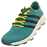 Adidas Terrex Climacool Herren-Outdoor-Schuhe, schnell trocknend, mehrfarbig, grün - Eqt Green, Black, Blanch Green - Größe: 46 2/3