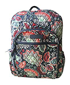 8fa87b0afb48 ... Vera Bradley Campus Backpack (Nomadic Floral with Grey Interior)
