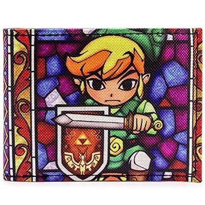Nintendo Zelda Wind Waker Multicolore Portefeuille