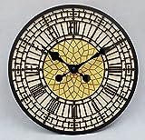Big Ben Uhr Outdoor Garten Wanduhr handbemalt Uhr 30cm