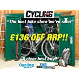 Cycle storage, Metal Bike Storage 6 x 3 ft(Supplied flat pack)