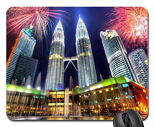 petronas-twin-towersmalaysia-mouse-pad-mousepad-skyscrapers-mouse-pad