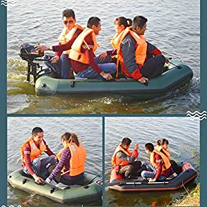 Pleasure-joy Boat Rubber PVC Inflatable Fishing Kayak Wear Resistant Air Deck Slats Bottom