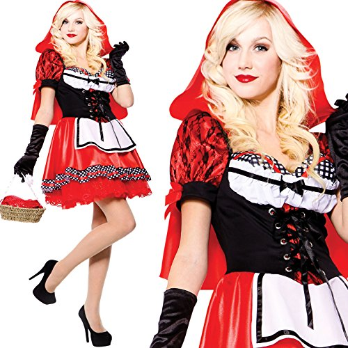 Erwachsene Sexy Rotkäppchen Little Red Riding Hood (Little Kostüme Hood Sexy Riding Red)
