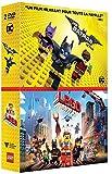 Lego Batman, le film + La Grande Aventure Lego - Coffret DVD - DC COMICS