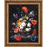 Design Toscano 37X46 STILL LIFE WITH FLOWERS & A WATCH NR preiswert