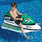 Swimline 9027SL GTX Wet Ski & Wild Ride - Galleggiante gonfiabile per moto acquatico 9027
