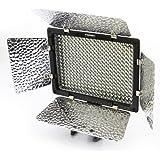 Yongnuo YN-300 - Foco LED para cámaras y videocámaras (zapata universal, mando a distancia)