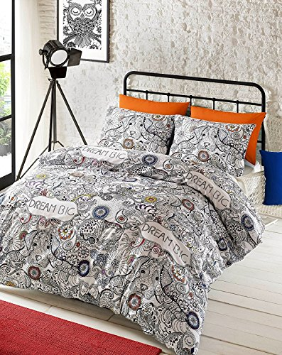 Doodle Dream, Design Bettwäsche-Set by # Bettwäsche, Bettbezug und Kissenbezug Set, 48 % Baumwolle / 52 % Polyester, King Set (duvet cover + 2 pillowcases)