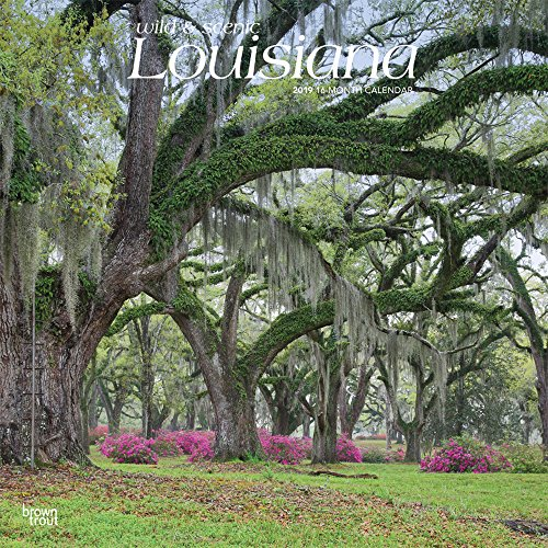 Louisiana, Wild & Scenic 2019 Calendar