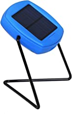 Le Dazzio AVI-SL1 Portable Eco Friendly Solar Lantern, (Blue)
