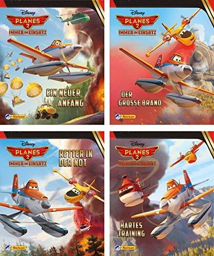 4 Bücher - Planes 2 - Miniausgabe Nr 1 - 4