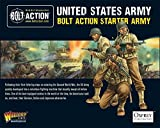 Bolt Action WW2 US Starter Army Set - 57x 28mm Minatures - Sherman - Half Track by Bolt Action