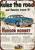 metal Signs Hudson Hornet Vintage Look Reproduktion Metall blechschild 30,5x 45,7cm