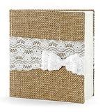 Gästebuch Hochzeit Hochzeitsgästebuch Fotoalbum Hochzeitsalbum Hochzeitsbuch natur von Haus der Herzen ®