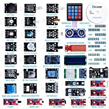 ELEGOO Upgraded 37 in 1 Sensor Modules Kit with Tutorial Compatible with Arduino UNO R3 MEGA 2560 Nano Raspberry Pi