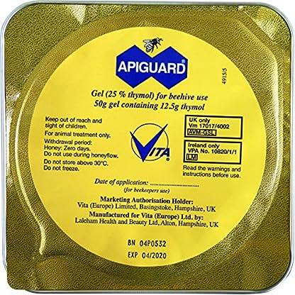 Apiguard Varroa Control, Natural Varroa Mite Treatment for Honeybee Colonies, Beehives, Apiary 4