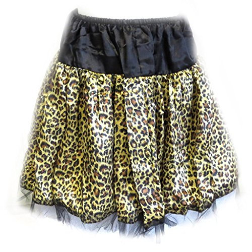 Les Trésors De Lily M0867 - Jupe 'Leopard' marron noir