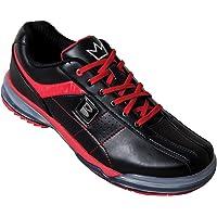 Brunswick Mens TPU-x Performance Bowling Shoes- Nero/Rosso