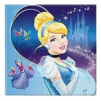 Disney Cenerentola accessori festa compleanno Tovaglioli Di Carta conf 20 Pz
