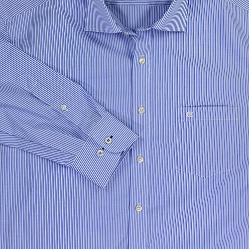 CASAMODA Herren Businesshemd 006250 Blau
