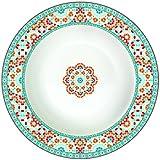 R2S 943GRAN sopa Granada-Plato de cerámica, 22 X 21,5 X 4 cm.