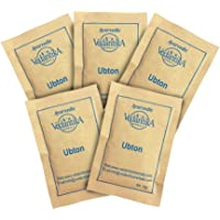 Vedantika Herbals Ayurvedic Ubton Skin Polisher,Natural Body scrub free from chemicals, Travel friendly Sachets,50g