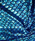 Jersey Mermaid Maßstab Stoff Fisch Tale Folie Spandex