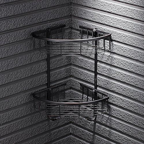 MangeooAntike Stativ Warenkorb Warenkorb Warenkorb Badezimmer Badezimmer Regal Regale europäischen Dreieck, Double Dunkelblau feine - Antike Warenkorb