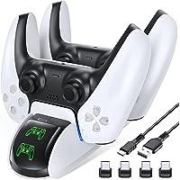 OIVO Chargeur Manette PS5, Chargeur PS5 pour Playstation 5, Support Manette PS5 avec Indicateur LED pour Manette PS5…
