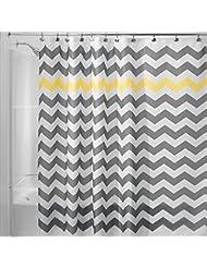 La onda simple de la alta calidad rayó la cortina impermeable del cuarto de baño, 180 * 180cm