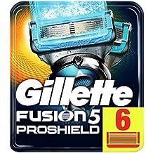 Gillette Fusion5 ProShield Chill Razor Blades, 6 Refills